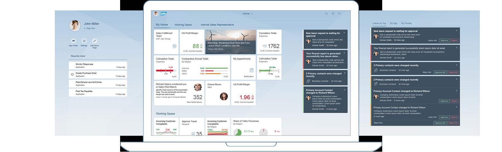 Fiori 2.0 Launchpad Viewport